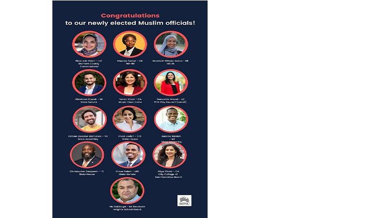 মুসলিম পাবলিক অ্যাফেয়ার্স কাউন্সিলের ১৩ সদস্যকে অভিনন্দন