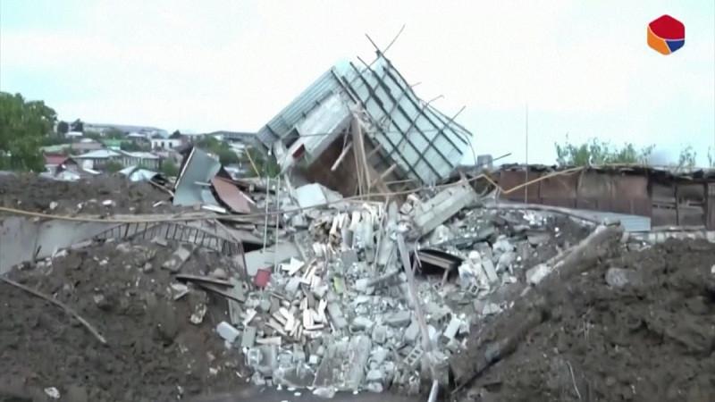 'গানজা' শহরে আর্মেনিয়ার হামলা