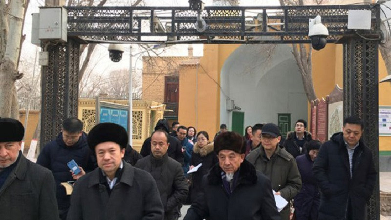 কয়েকশ' উইগুর ইমাম আটক করেছে চীন