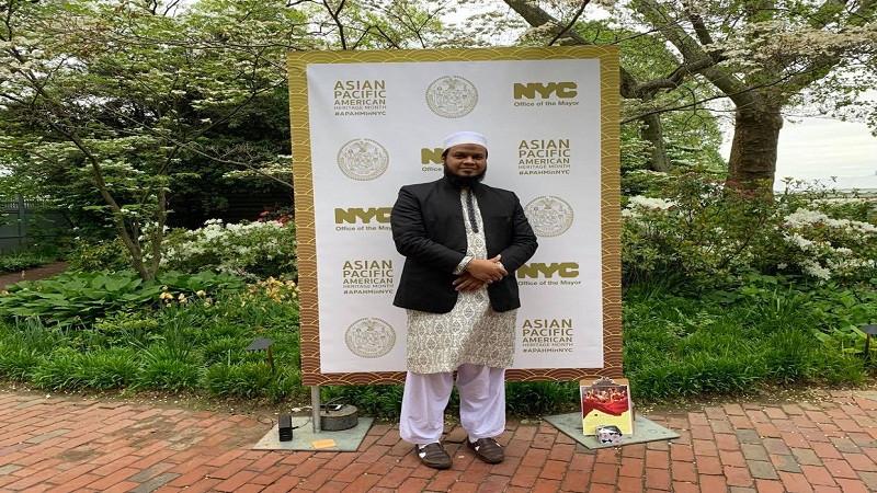 গ্লোবাল পিস অ্যাওয়ার্ড: মুহাম্মদ শহীদুল্লাহকে অভিনন্দন