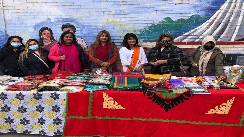 নারী নেত্রী মাকসুদার সৌখিন বাজার